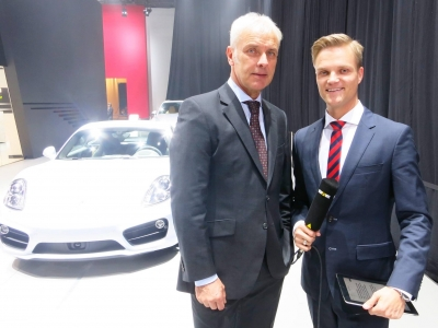 Im Interview mit VW-Chef Matthias Müller