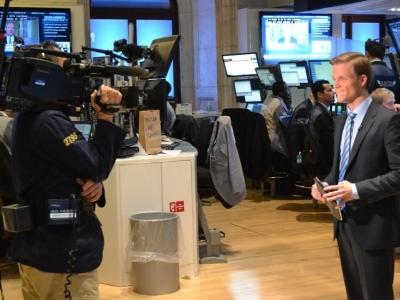 Manuel Koch an der NYSE